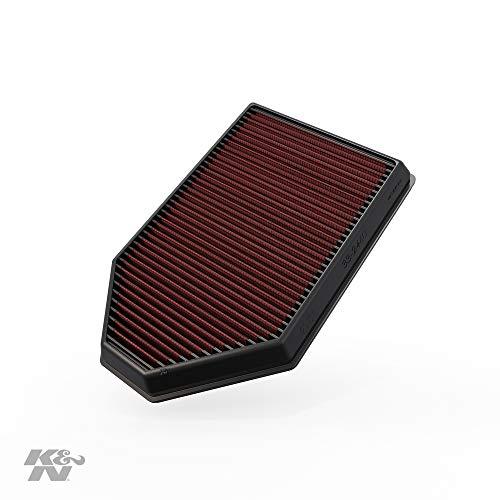 K&N 33-2460 Motorluftfilter: Hochleistung, Prämie, Abwaschbar, Ersatzfilter, Erhöhte Leistung, 2011-2019 (Charger, Challenger, 300)