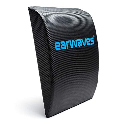 Earwaves ® Carbon Abmat - CrossFit Ab Mat idéal pour les sit ups et hspu. Tapis pour abdominaux. Coussin de fitness pour entraîner les abdominaux et le tronc.
