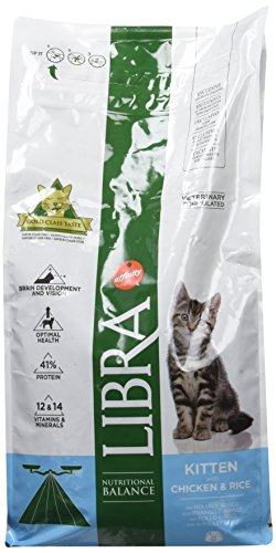 Libra - Pienso para gatos kitten pollo y arroz 1,5 kg 🔥