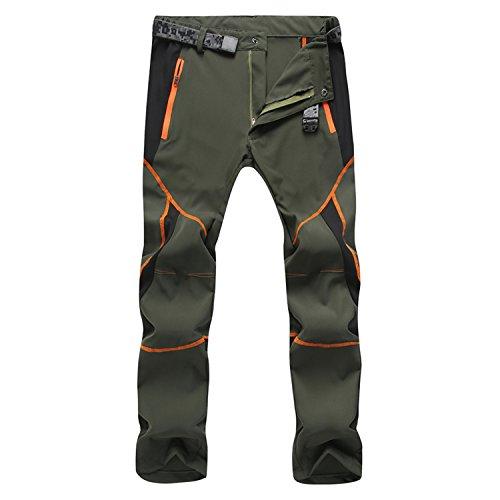 Freiesoldaten Hombres Ropa Deportiva Pantalones de Escalada Transpirables y Ligeros Pantalones de montaña de Senderismo de Secado rápido a Prueba de Viento