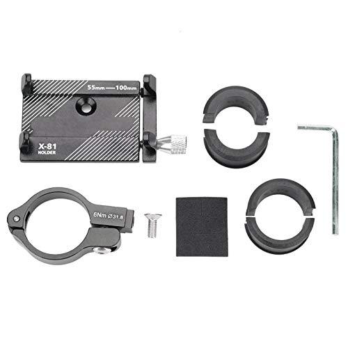 Soporte para teléfono Bicicleta de Carretera Manillar de aleación de Aluminio Mini Soporte Universal para teléfono Soporte de Montaje