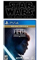 Star Wars Jedi Fallen Order Deluxe Edition PlayStation 4 スターウォーズジェダイフォールンオーダーデラックスエディションプレイステーション4,ブラックシリーズフィギュアバンドル北米英語版 [並行輸入品]