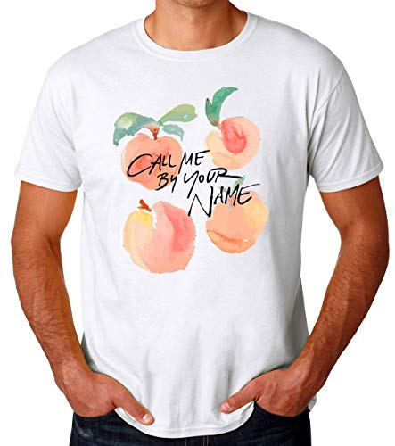 Call Me By Your Name Peaches T-Shirt Uomo Large