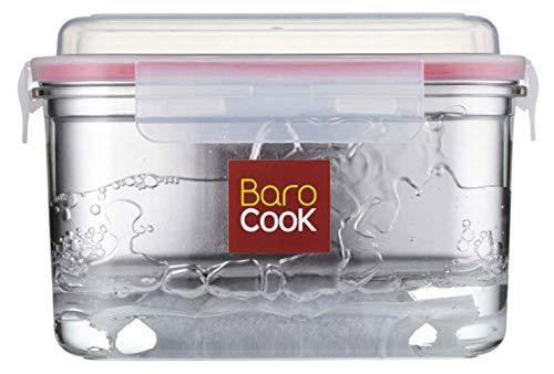 Barocook Rectangular Flameless Cookware System, 40-Ounce