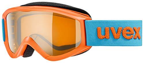 Uvex Unisex-Jugend Speedy Pro Skibrille, orange, Einheitsgröße