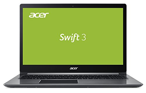 Acer Swift 3 (SF315-41-R72C) 39,6 cm (15,6 Zoll Full-HD IPS) Ultrathin Notebook (AMD Ryzen 5 2500U, 8 GB RAM, 512 GB SSD, Radeon Vega8 Mobile Graphics, Win 10 Home) grau