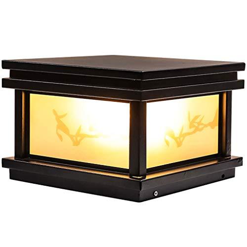 ZYLBDNB Lámpara de Piso Lámpara de Pared de jardín Impermeable al Aire Libre Nueva lámpara de pie de césped Chino Luz de Paisaje de jardín al Aire Libre Lámparas de pie para salón