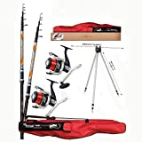 Lineaeffe Top Telesurf Full Surfcasting Combo 4.20 m 200 g Mulinelli 6000