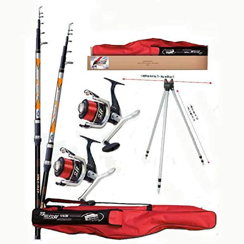 Lineaeffe Top Telesurf Full Surfcasting Combo 4.20 m...