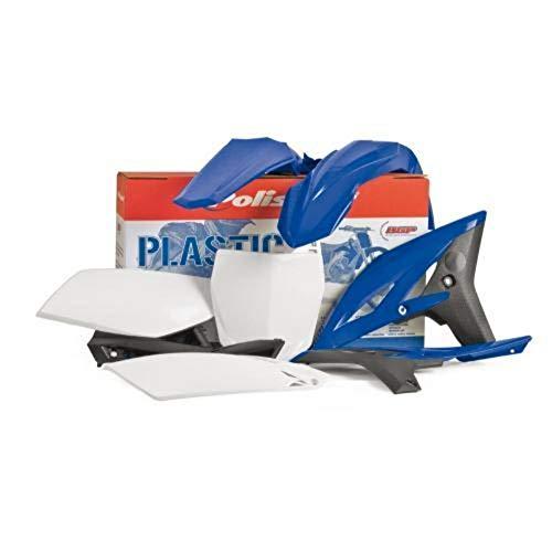 Polisport Complete Replica Plastic Kit YZ Blue - Fits: Yamaha YZ125 1996-1999