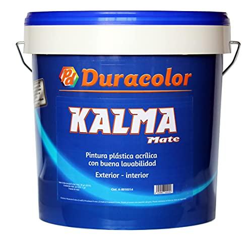 Pintura Kalma Mate - Color Blanco - 1 litro - Pintura Plástica...