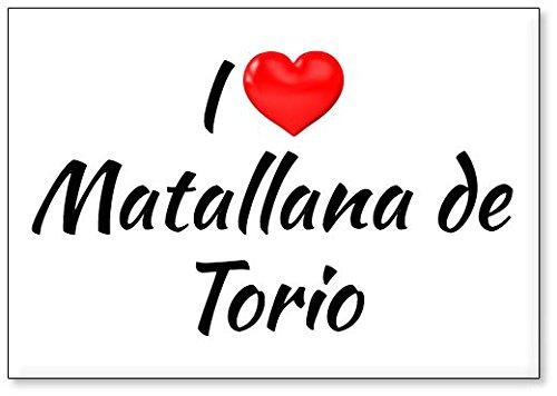 Mundus Souvenirs - Amo Matallana de Torio, Imán para Nevera (diseño 2)