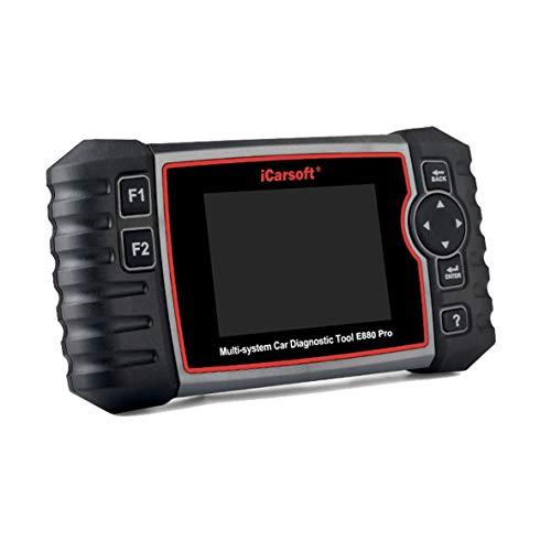 iCarsoft E880 Pro Diagnostic Scan Tool for European Vehicles +Oil Reset +EPB+BMS+DPF+SAS+ETC+BLD+INJ