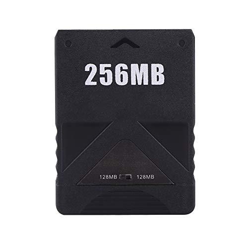 fosa Playstation 2 Memory Card, 8M-256M Scheda di memoria ad alta velocità per Sony PlayStation 2 PS2 Console Giochi Accessori(256M)