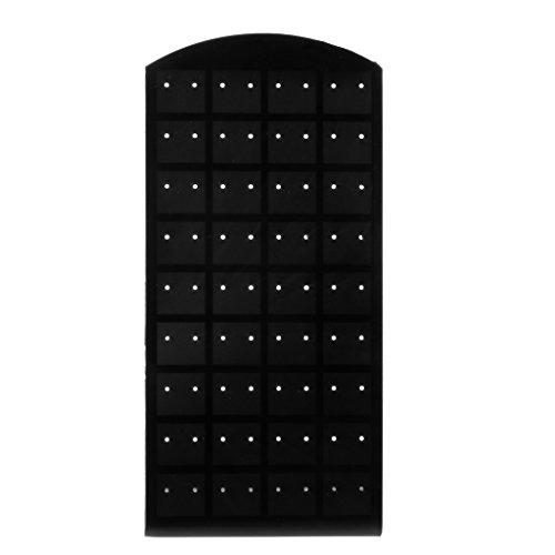 VIccoo 72 Gaten Kunststof Oorbel Oorsteker Sieraden Display Rekstandaard Organizer Houder