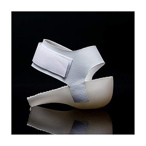 Plantillas Para Zapatos Desodorante Suela Plantillas invisibles de aumento de altura de gel de 3 cm, almohadillas de amortiguación de talón con absorción de impactos Inserciones de zapatos de elevació