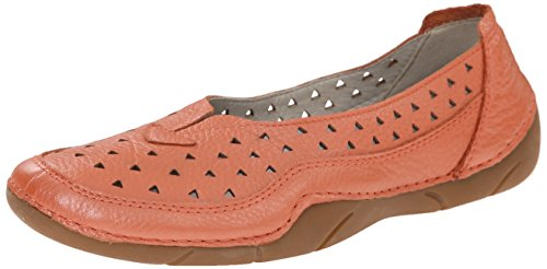 Propet Women's Wren Walking Shoe, Metallic Melon, 6 W
