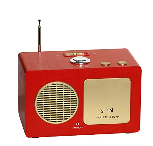 SMPL One-Touch Music & Radio Center. The Gift of Music Made smpl with The Entertainment Center Everyone Can Use. Includes 75 Nostalgic Hits. Eases Caregiver Stress