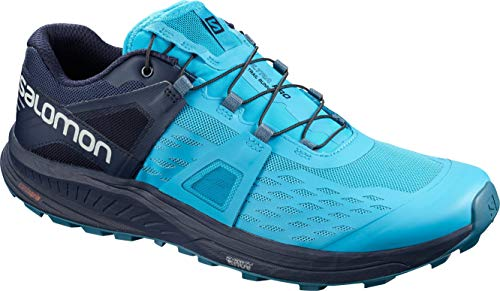 Salomon Herren Shoes Ultra/pro Hawaiian Laufschuhe, Blau (Hawaiianischer Ozean/Marineblazer/Stockente), 45 1/3 EU