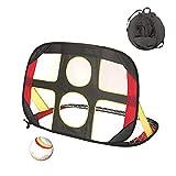 Pop Up Kids Toys 2 en 1 But De Soccer, De Football des Jeunes Cible Football Nets Carry Bag Portable Sports en Salle Et en Plein Air Jeux pour Enfants Football Pratique Sportive Jouet