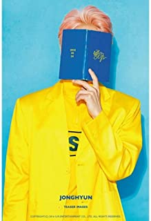 SHINEE JONG HYUN - [좋아/LIKE] 1st Album CD+POSTER+80p Photo Book+1p Photo Card K-POP Sealed