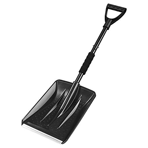 Price comparison product image Snow ShovelDetachable Portable Compact Emergency Snow Shovel for CarSturdy Snow Shovel,  3-Piece Collapsible Design,  Perfect for Garden,  Car Driveway,  Truck,  SUV,  Camping and Outdoor Activities