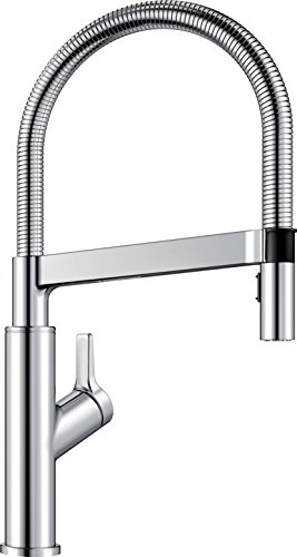 BLANCO, Polished Chrome 401992 SOLENTA SENSO Semi-Pro Kitchen Faucet with Sensor Technology, 1.5 GPM