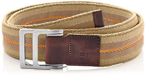 BRAX Textilgürtel Cintura, Beige (Sand 56), 8 (Taglia Unica: 100) Uomo