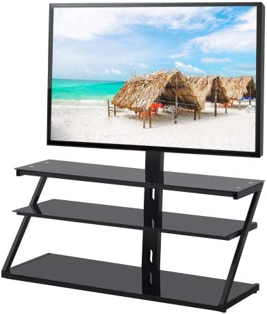 Masfon Today's only TV Stand for 32-65 Ranking TOP8 55 wi Tall 50+ inch Floor