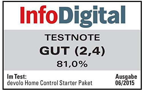 devolo Home Control Starter Paket (Z-Wave Hausautomation, Haussteuerung per iOS/Android App, einfache Installation, Smart Home Starter Set: Zentrale, Schaltsteckdose, Türkontakt, Fensterkontakt) - 5