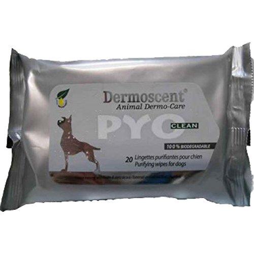 Dermoscent PYOclean Wipes für Hunde und Katzen - 20 Stück