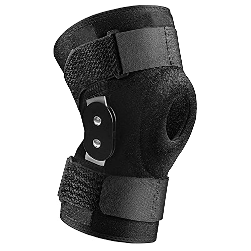 Olamtai Knee Brace with side stabilizers, Adjustable Knee Pad Joint Support, Power Knee Stabilizer...