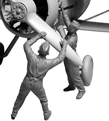 ICM 1/32 第二次世界大戦 イギリス空軍 グランドクルーセット 1939-1945 プラモデル 32107