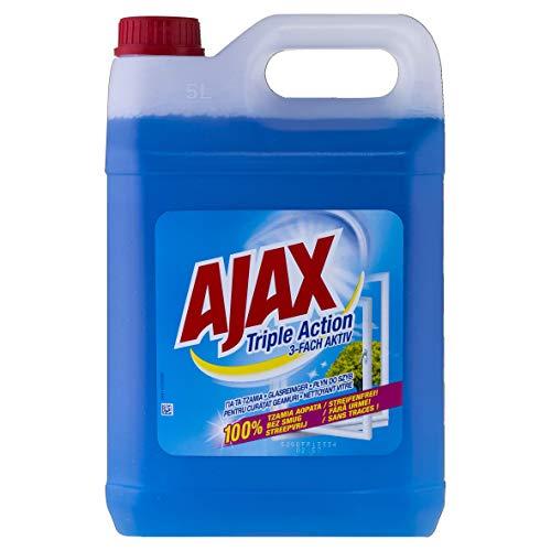 pas cher un bon Nettoyant pour vitres AJAX 3 compartiments 5l