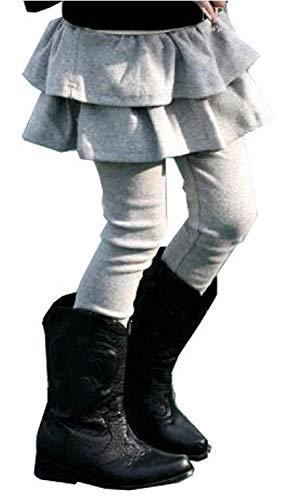 (キュアキュア) CURECURE ガールズ キッズ スカート 付き レギンス 子供服 女の子 スパッツ スカッツ レギパン タイツ こども 子供用 こども用 発表会 アウトドア おんなの子 おんなのこ スポーツ 10分丈 キッズ下 ガール パンツ スカン
