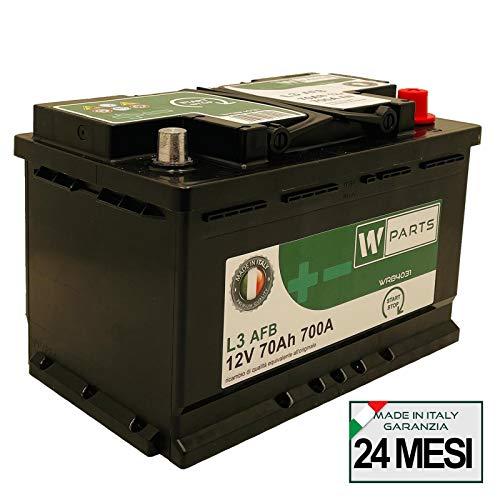 Batteria Auto 70 Ah AFB - 700A | Start & Stop | 278 x 175 x 190 | 70Ah | VR760