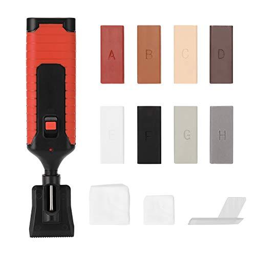 KKmoon Kit de Reparación para Azulejos, Juego de Reparación para Rayones y Superficies de Azulejos, Reparación de Grietas Relleno de Azulejos Herramientas de Reparación de Baldosas de Cerámica
