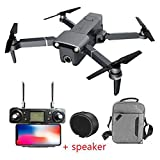 MEIGONGJU Mini Drone caméra 4K UHD 3 Axes PTZ RC Drone 4 Axes RTF Haute Vitesse H117S Drone bannes GPS 5.8G 1.5KM d'origine,Drone GPS Speaker