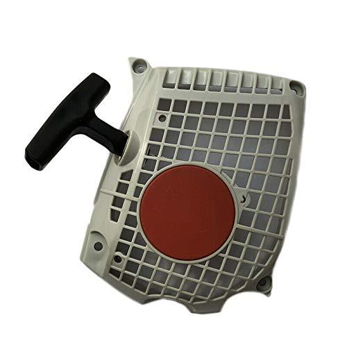 WANWU Recoil motor Extractor de arranque piezas de gatillo para motosierra STIHL MS261 MS291 MS271