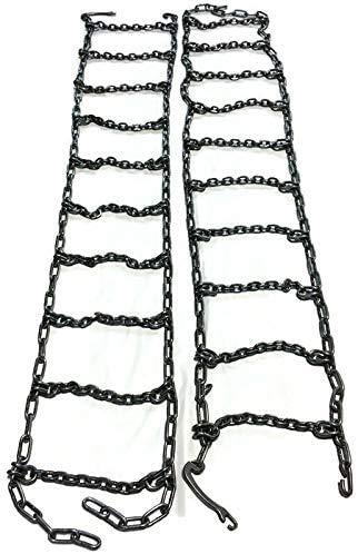 Set of 2 Skid Steer Uni-Loader Tire Chains Fit