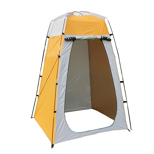 Camping Shower Tent Portable Shower 72.8x47.2x47.2in With 210T Polyester Material For Outdoor Sun Shelter Camp Lightweight & Sturdy