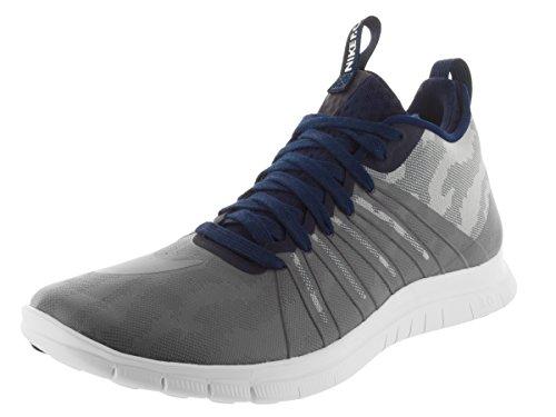 Nike Free Hypervenom 2 FC, Botas de fútbol para Hombre, Gris/Blanco (FLT Slvr/Cl Gry-Obsdn-Drk Gry), 42 EU
