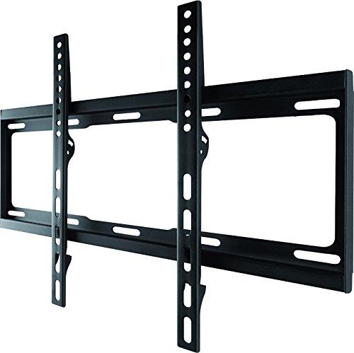 One For All WM2411 Supporto da Parete per TV - Montaggio a Muro Fisso - Dimensioni Schermo 32-55 pollici - Per Tutti i Tipi di TV – Massimo Peso 100kg - Nero