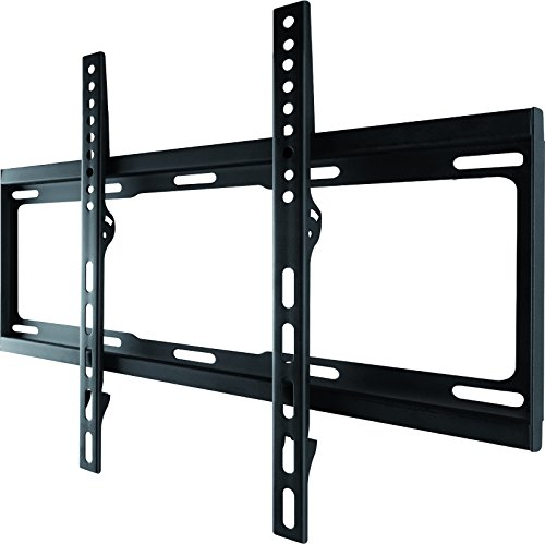 "One For All - WM2411, Soporte de pared para TV de 32 a 55"", fijo, peso máx. 100kg, para todo tipo de TVs (LED, LCD y plasma), negro"