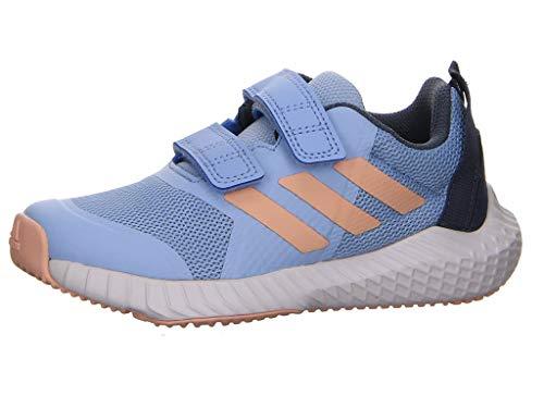 adidas Unisex-Kinder Fortagym Cf K Laufschuhe, Bleu VIF Rose Fuschia Bleu Nuit, 30 EU