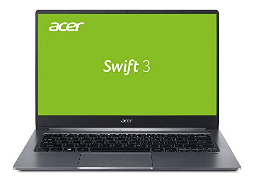 Acer Swift 3 (SF314-57-77MU) 35,56 cm (14 Zoll Full-HD IPS matt) Ultrabook (Intel Core i7-1065G7, 16GB RAM, 512GB PCIe SSD, Intel Iris Plus Graphics, Win 10 Home) steel-grey