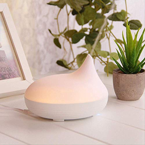Máquina de aromaterapia,Humidificador Humidificador de aire Ultrasónico Aroma Difusor Ajustable Mist Modes Home Essentials Oil Diffuser Mist Maker With Led Night Light B