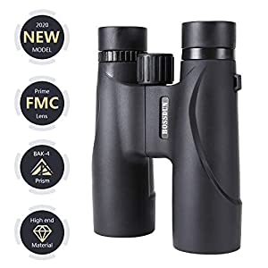 10X32 Binoculars with Low Light Night Vision, Lightweight Binoculars for Bird Watching Hiking Traveling Hunting and Sports Events,Large Eyepiece Binoculars for Kids Adults