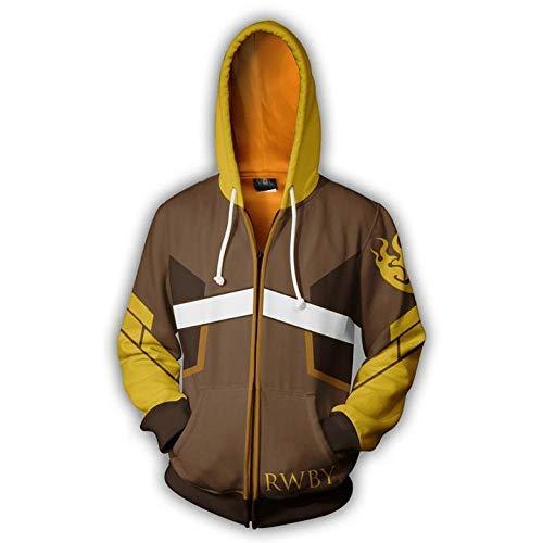 Generic Sweater Pullover Herren Hoodie Europäische und amerikanische Mode Sweatshirt Reißverschluss Strickjacke Hoodie