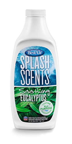 BestAir FSE-PDQ-6 Splash Scents Humidifier Scent & Water Treatment, Soothing Eucalyptus, 16 fl oz, Single Pack
